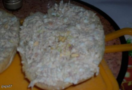 pasta kanapkowa z tuńczyka i białego sera