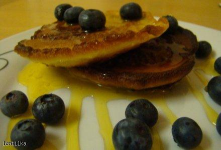 Idealne śniadanie - placuszki z ricottą.