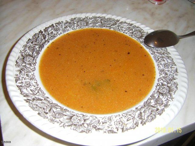 Zupa pomidorowa z sokiem wielowarzywnym Fortuny