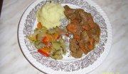 Mięso w sosie musztardowo - goździkowym