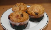 Muffiny owsiano-otrębowe