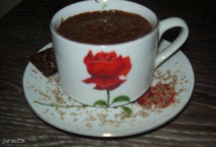 gorąca czekolada z pianką
