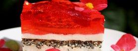 Ciasto makowe z Delicjami