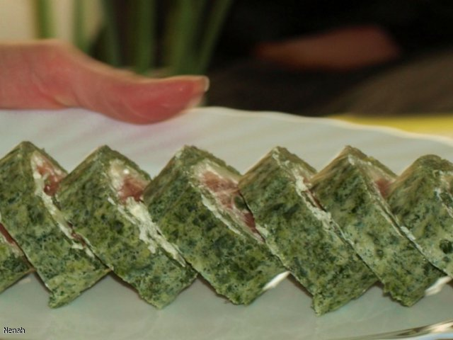Rolada z łososiem