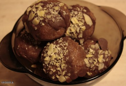 Bajaderki czyli sposób na zakalec, lub jak kto woli ciastka z resztek  ;-)