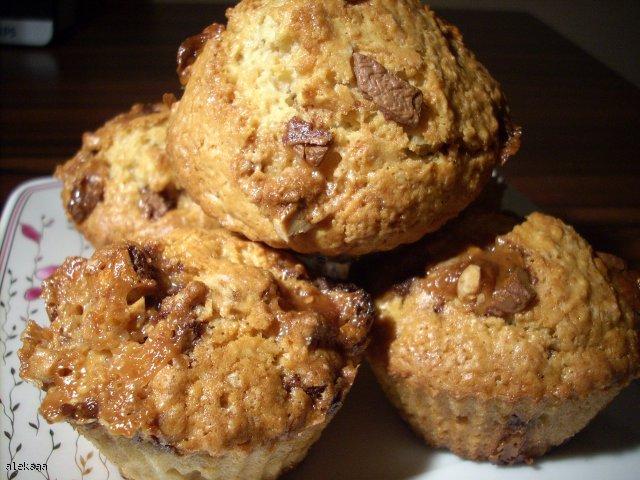 Muffinki ze snickersem i baileysem