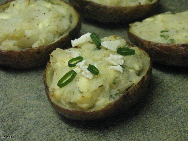 Ziemniaki z fetą