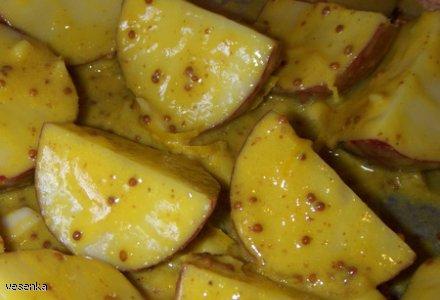 Musztardowe ziemniaczki