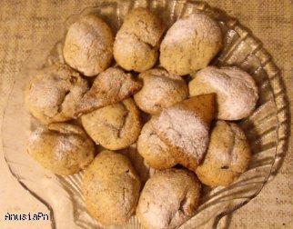 Ciasteczka z orzechami włoskimi