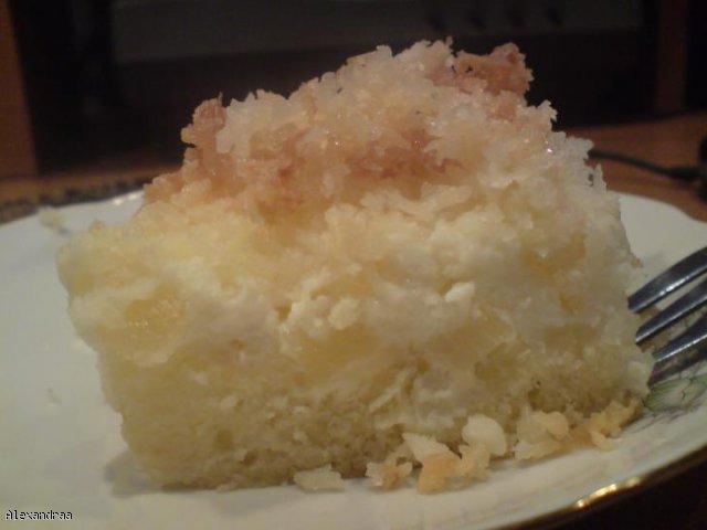 Ciasto serowe z wiórkami