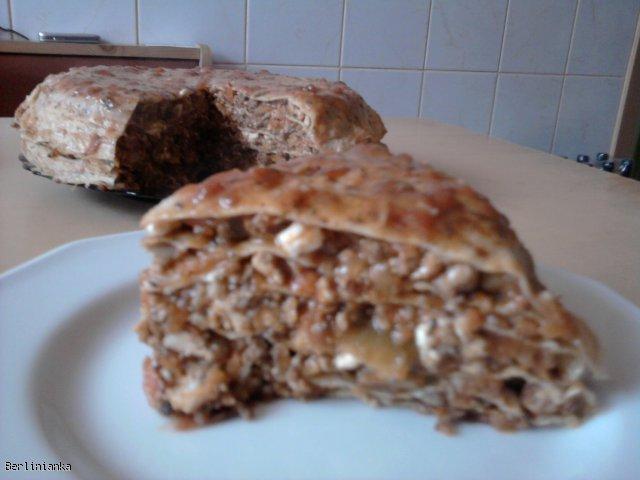 Boloński Tort Naleśnikowy (dieta Protal)