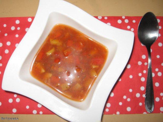 Lekka zupa warzywna (dieta Protal)