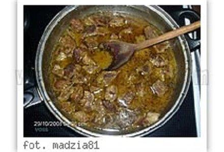 Gulasz wieprzowy - bardzo łatwy i smaczny