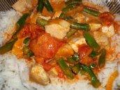 Czerwone curry z kurczakiem