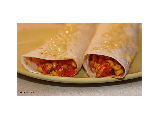 Moje burrito czyli tortilla z kurczakiem