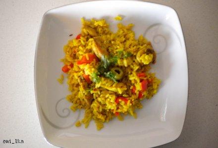 Wariacja - ryż i kurczak