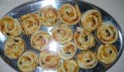 Ślimaczki - mini pizze
