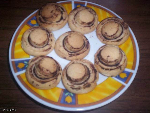 Pieczarki ciasteczka