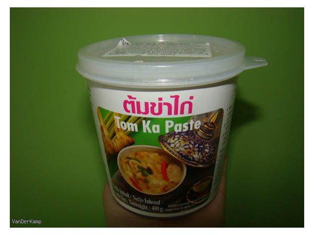 Tajska zupa kokosowa (Tom Ka)