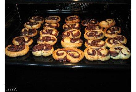 Ślimaczki czekoladowe