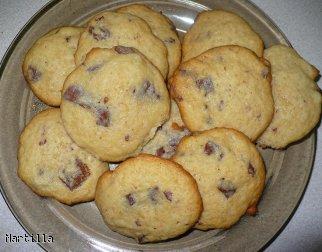 Amerykańskie ciasteczka z czekoladą