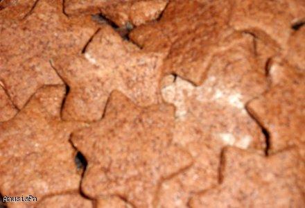 Szybkie pyszne czekoladowe gwiazdeczki dla łasuchów ;)