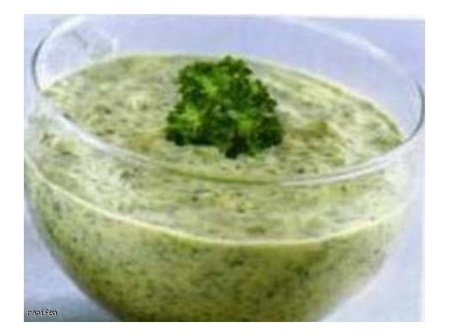 Sos zielony (do mięs na zimno)
