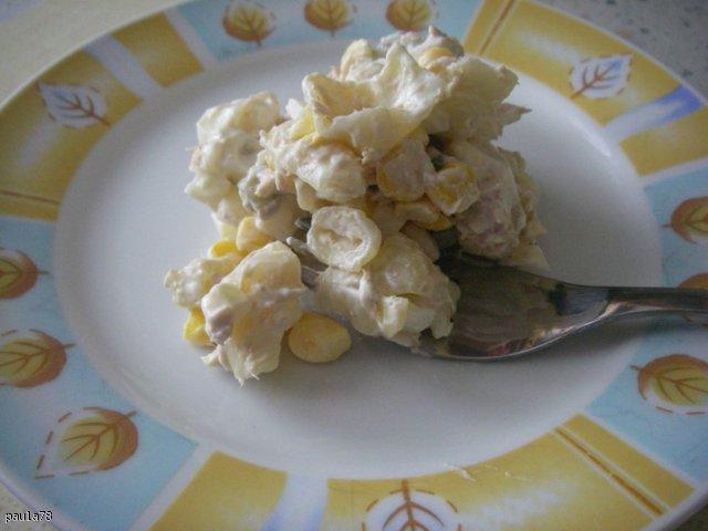Sałatka z tuńczykiem-klasyk :)