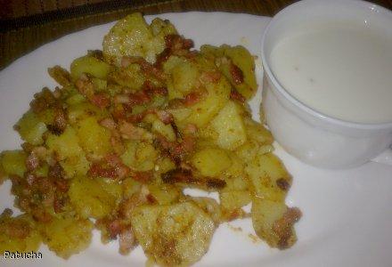 ziemniaczki zbójnickie z kapką kefiru dla smaka