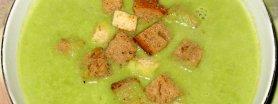Zupa krem z zielonego groszku
