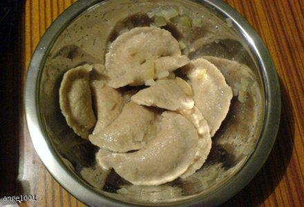 Pierogi z mięsem (dieta proteinowa)