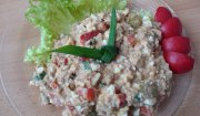 sałatka z tuńczyka (dietetyczna)