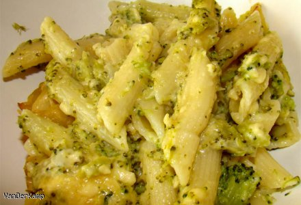 Zapiekanka serowo-brokułowa