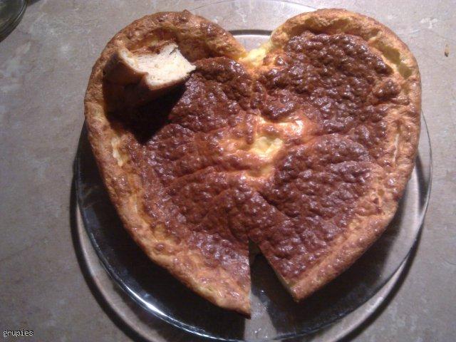 Serce sernikowe na Protal
