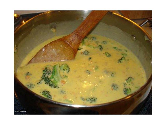 Gęsta zupa jarzynowo-serowa