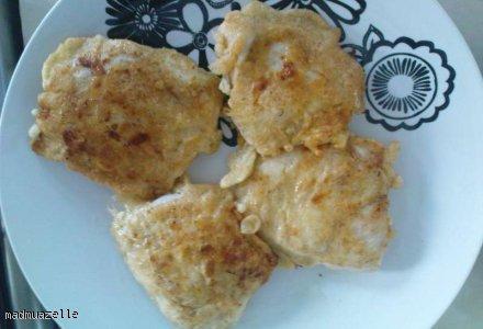 Piersi z kurczaka w cieście naleśnikowym