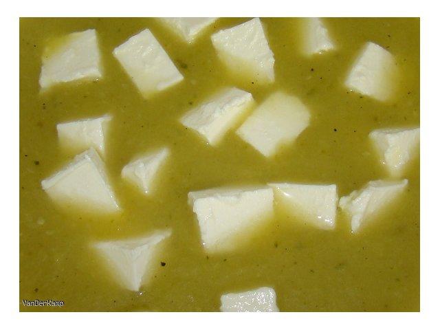 Zupa krem z cukinii z fetą