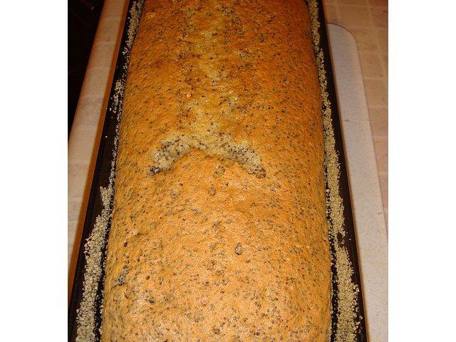 Proste babkowe ciasto z makiem - Piegus