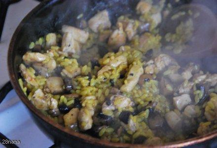 Ryż z Kurą i Pieczarką