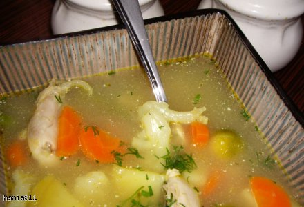 Błyskawiczna zupa jarzynowa