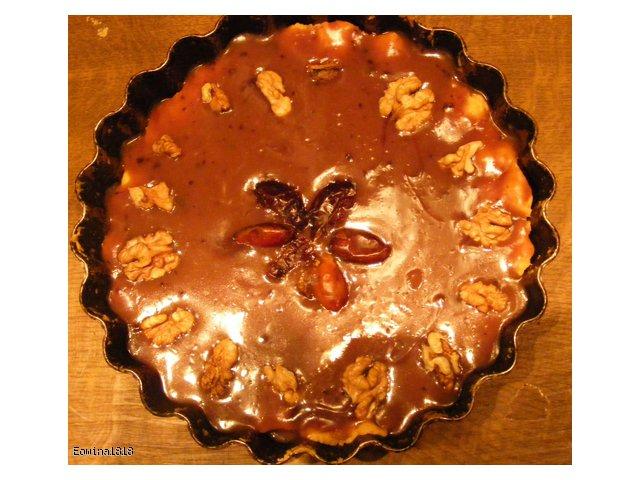 Mazurek kajmakowo-czekoladowy