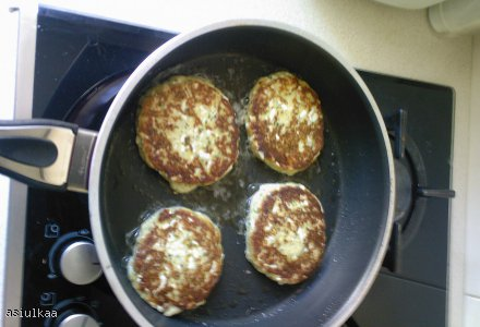 Kotlety jajeczno- mozzarellowe