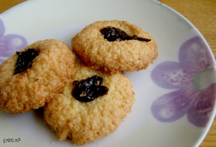 Ciasteczka kokosowe z kleiku ryżowego