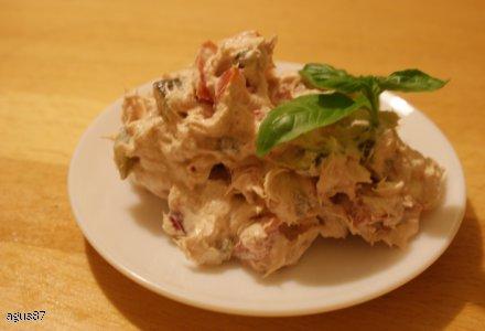 Sałatka z tuńczykiem - do chlebka