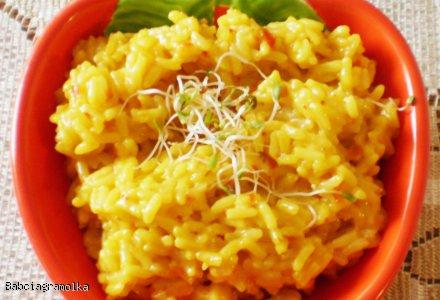 Ryż kokosowy na pikantnie