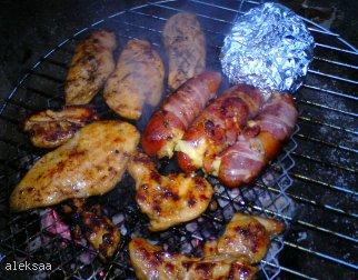 Grillowane piersi kurczaka z miodem