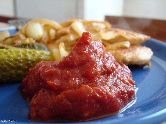ketchup awaryjny - gdy zabraknie sklepowego