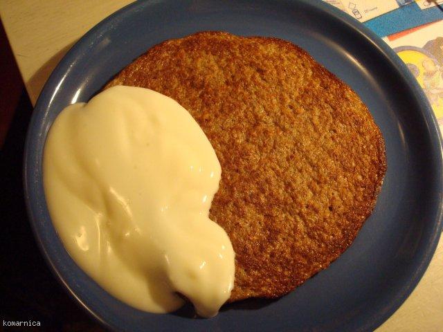 naleśnik omletowy kakaowo kokosowy (diet!)