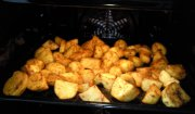 Pikantne pieczone ziemniaczki