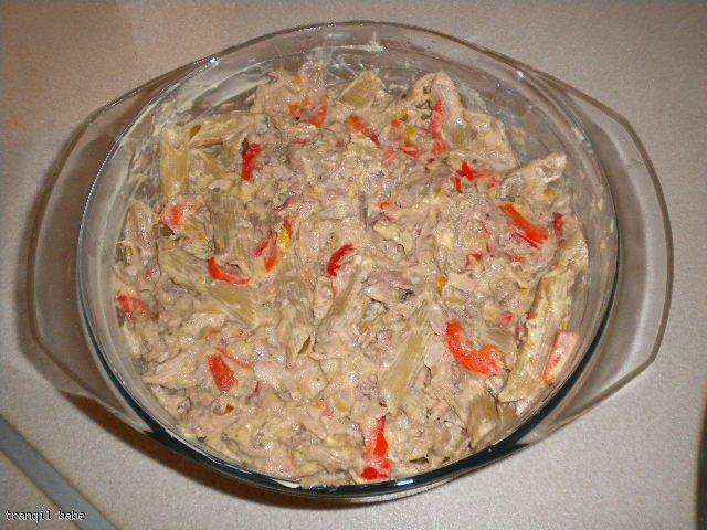 Zapiekanka makaronowa z tuńczykiem